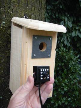 Backyard Birdhouse with Hawk Eye HD Cam